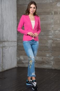Розовый блейзер Mondigo