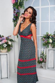 Длинное платье на лето Angela Ricci